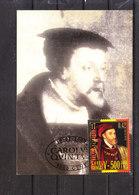 2887 Charles Quint - Emission Commune Avec L' Espagne - Espana - Maximum Cards