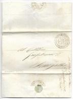 REPUBBLICA ROMANA - DA SENIGALLIA PER CITTA' - 9.5.1849 - MOLTO RARA. - ...-1850 Préphilatélie