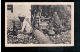 INDIA Kathiawar House 1913 Old Postcard - Indien