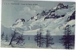 AOSTA COURMAYEUR BASSIN DU COMBAL EN HIVER - Aosta