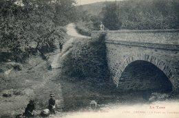 25D... TREBAS.Le Pont Du Château - Francia