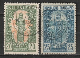 Congo N° 33, 34 - Französisch-Kongo (1891-1960)