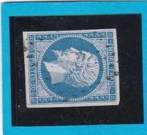 N° 14 A   PC  371  BERLAIMONT  ( 57 )  NORD  - REF 12914 + Variété  -IND 5 - 1853-1860 Napoléon III.