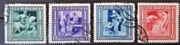 AUSTRIA 1936 - Canceled - ANK 628-631 - Complete Set! - Winterhilfe 1936/37 - 1918-1945 1ra República