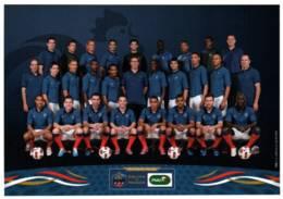 CPM - FOOT-BALL - EQUIPE De FRANCE - Entraîneur L.BLANC ... - Soccer