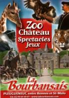 CPM - ZOO CHATEAU DE LA BOURBANSAIS - Multivues - Carte PUB ... - Other
