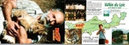 CPM - ZOO DE LA FLECHE - LION D'AFRIQUE - Edition Carte-Lettre Pub - Leones