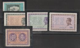 Iran 1968 Divers 1241 à 1244 + 1252 5 Val ** MNH - Iran