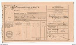 MILITARIA PASSAVANT OCTROI 24 MARS 1943 FALANDRY & CHAMBARET St OUEN PORT POUR LA COURNEUVE DEHALU - 1939-45