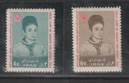 Iran 1968 Jamborée 1258-59 2 Val ** MNH - Irán