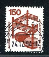 Bund Rollenmarken MiNr. 703 AR B Gestempelt Rote Nummer (F964 - [7] République Fédérale