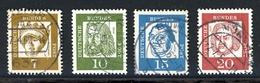 Bund Rollenmarken MiNr. 348-52 X R Gestempelt (F950 - [7] République Fédérale