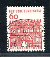 Bund Rollenmarken MiNr. 459 R Gestempelt (F956 - [7] République Fédérale