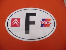 Autocollant ( Auto Voiture )  Citroën FRANCE Total - Stickers