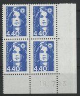 N° 2822 ** (MNH). Coin Daté Du 19/7/93. TB - Ecken (Datum)