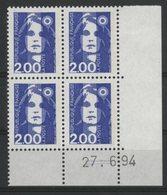N° 2906 ** (MNH). Coin Daté Du 27/6/94. TB - 1990-1999