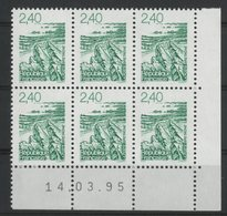 N° 2949 ** (MNH). Coin Daté Du 14/03/95. TB - 1990-1999