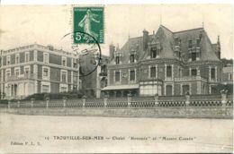 """N°1958 T -cpa Trouville Sur Mer -chalet """"Honorée"""" Et """"Maison Cassée"""" - Trouville"""