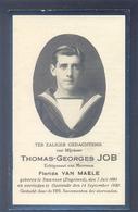 Thomas-Georges JOB - Geb. Te Swansea (Engeland)1893 En Overleden Te Oostende 1930 - Images Religieuses