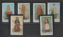 Iran 1974 Costumes 1569-74 6 Val ** MNH - Iran
