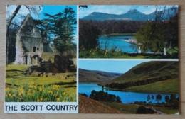 The River Tweed From Drybourgh Abbey St. Mary's Loch Selkirkshire Scotland Schottland Vereinigtes Königreich UK - Schottland