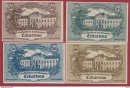 Autriche 4 Notgeld Stadt Eckartsau Dans L 'état N °24 - Austria