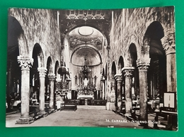 Cartolina Carrara - Interno Duomo - 1932 - Massa