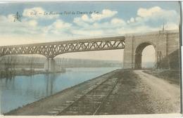 Visé; Le Nouveau Pont Du Chemin De Fer - Non Voyagé. (Emile Dumont - Liège) - Visé