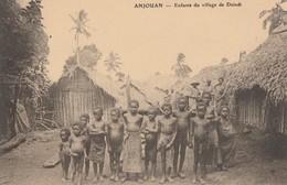 ANJOUAN - LES ENFANTS DU VILLAGE DE DZINDI - BELLE PHOTO DE GROUPE - TOP !!! - Comoren