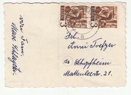 Verlobung Small Postcard Posted 1948 Hausen  B200115 - Zone Française
