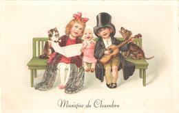 91) Musique De Chambre - Card In Very Good Condition! - Grupo De Niños Y Familias