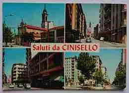 CINISELLO BALSAMO - SALUTI DA CINISELLO - Vedutine - Vg L3 - Cinisello Balsamo