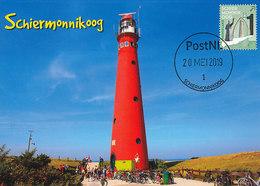 D38747 CARTE MAXIMUM CARD FD 2019 NETHERLANDS - LIGHTHOUSE PHARE LEUCHTTURM SCHIERMONNIKOOG - WADDEN ISLAND CP ORIGINAL - Vuurtorens