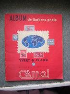 ALBUM DE TIMBRES - CHOCOLAT CEMOI - FRANCE, ETRANGER - Timbres