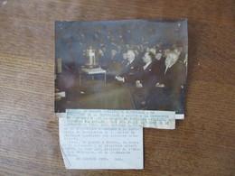 25 JANVIER 1939 AU MUSEUM D'HISTOIRE NATURELLE LE PRESIDENT ALBERT LEBRUN,M. JEAN ZAY MINISTRE DE L'EDUCATION NATIONALE, - Personalità