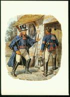Ax Postilions, Hessen Darmstadt 1820, Uniforms - Post