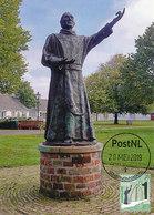 D38750 CARTE MAXIMUM CARD FD 2019 NETHERLANDS - STATUE OF A MONK SCHIERMONNIKOOG - WADDEN ISLAND CP ORIGINAL - Monumenten