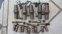 Lot De 5 Fusées Obus 75 Modèle 24/31 RYG18,neutra. - Armes Neutralisées