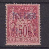 PORT - LAGOS : N° 5 *. AMINCI . 1893 . ( CATALOGUE YVERT ) . - Puerto Lagos (1893-1931)
