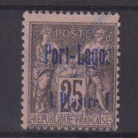 PORT - LAGOS : N° 4 *. B . SURCHARGE LEGEREMENT DOUBLEE . 1893 . ( CATALOGUE YVERT ) . - Porto Lagos (1893-1931)