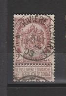 COB 55 Oblitération Centrale LA LOUVIERE (Centre) - 1893-1907 Coat Of Arms