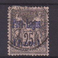PORT - LAGOS : N° 4 . OBL . TB . 1893 . ( CATALOGUE YVERT ) . - Usados