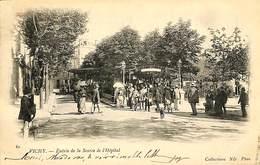 CPA - France - (03) Allier - Vichy - Entrée De La Source De L'Hôpital - Vichy