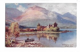 Kilchurn  Castle ,  Loch  Awe ,    Ecosse (  Tuck  Oilette  ) - Wimbush