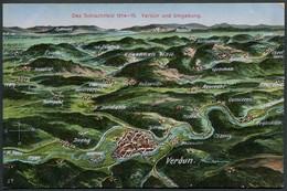 Das Schlachtfeld 1914-15 - Verdun Und Umgebung - N°28 Orig.-Eigentum.- Voir 2 Scans - War 1914-18
