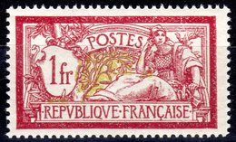 TIMBRE FRANCE LUXE MERSON N°121 Coté 120 Euros - 1900-27 Merson