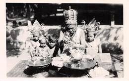 MALAYSIA? UNKNOWN LOCATION - REAL PHOTO POSTCARD OF A CEREMONY #9H11 - Malaysia
