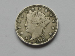 5 Cents - Five Cent 1910 Liberty - Etats-Unis - United States    **** EN ACHAT IMMEDIAT **** - Federal Issues