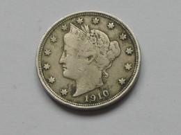 5 Cents - Five Cent 1910 Liberty - Etats-Unis - United States    **** EN ACHAT IMMEDIAT **** - EDICIONES FEDERALES