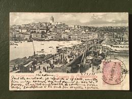 Souvenir De Constantinople-Pont Neuf Et Galata - Turquie